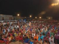 Pastor Leo ministering to the Pakistani people at the Healing Crusade