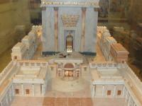 Model of the Rebuilt Temple in Israel
