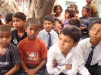 Ministering to children in  Pakistan