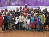 Preaching the Gospel to children in Africa