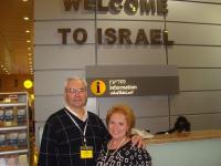 Pastor Leo and Evangelist Donna in Israel