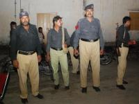 Pakistani Police protection