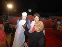 Pastor Donna prayed and a Woman is healed of a large tumor on her neck